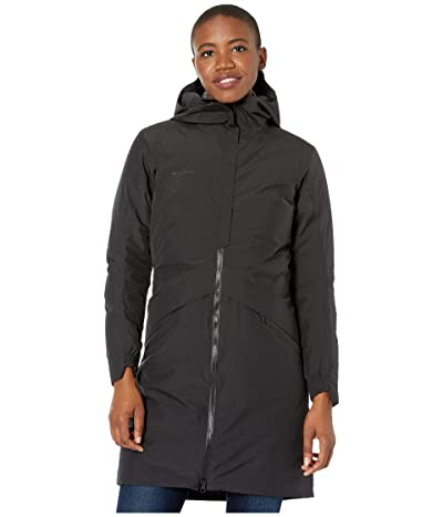Mammut 3379 HS Thermo Hooded Coat (Black) Women