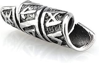 Silber Schmuckperle ~ ALAYA ~ Keltische Dreiheit