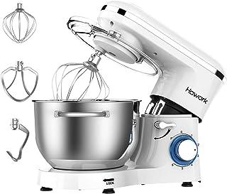 comprar comparacion Batidora Amasadora, Howork 1500W 6 Niveles de Velocidad Amasadora de Bajo Ruido para Repostería, Robot de Cocina Automátic...