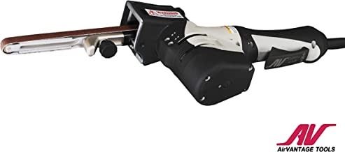 "AirVANTAGE Industrial-Grade Electric Belt Sander/Grinder with 1/2"" x 18"" Arm"