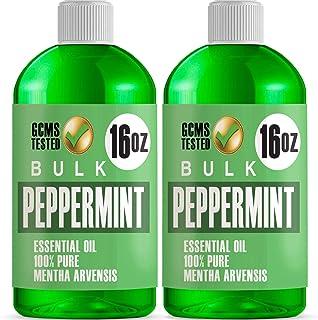 Lab Bulks Essential Oil Bulk Essential Oil, Peppermint, 32 Fluid Ounce