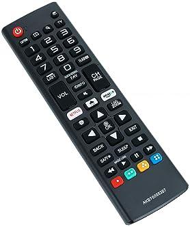 New Remote Control AKB75095307 Replacement fit for LG LED LCD TV 43UJ6500 43UJ6560 49UJ6500 49UJ6560 55UJ6520 55UJ654...