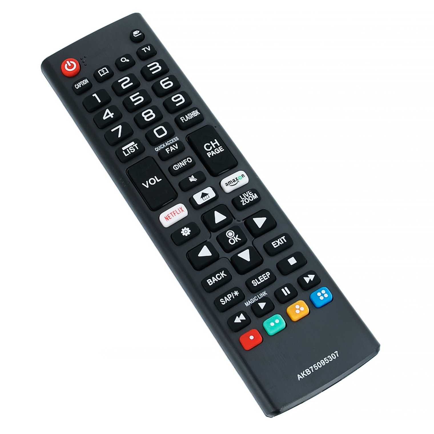 Nueva akb75095307 reemplazado TV Mando a Distancia para televisores LG, Televisión 43uj6500 49uj6500 65uj6540 55uj6580 75uj6520 55uj6520 43uj6560: Amazon.es: Electrónica