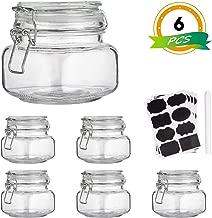 Ball Sure Seal Bail Storage Jar 14oz Wire Bail Glass Spice//Fruit//pasta Storage
