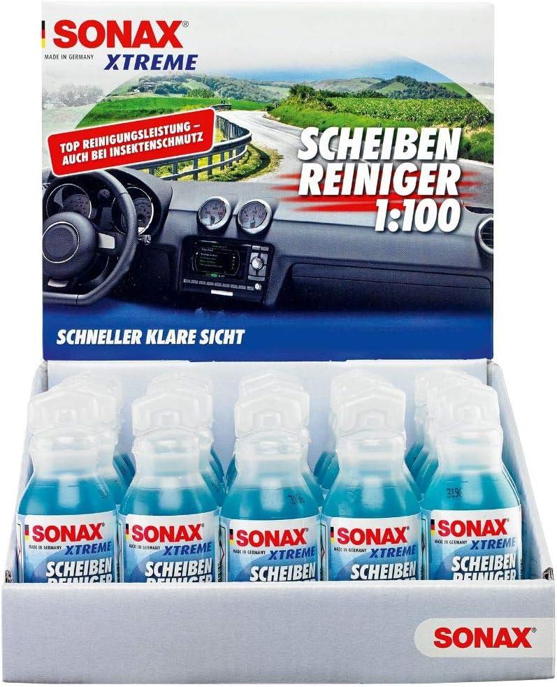 Sonax Xtreme Scheibenreiniger Sommer Gebrauchsfertig 3 Liter Extrem Schnell Wirkender Sommerscheibenreiniger Art Nr 02724000 Auto