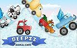 Enfants jeu de course - Beepzz Voiture animales aventure