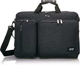 SOLO Solo Duane 15.6 Inch Laptop Hybrid Briefcase Backpack Backpack, Slate
