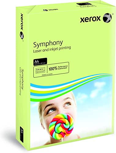 Xerox Symphony pastel - Papier de couleur Vert pastel 80 g/m² A4 - Ramette de 500 feuilles
