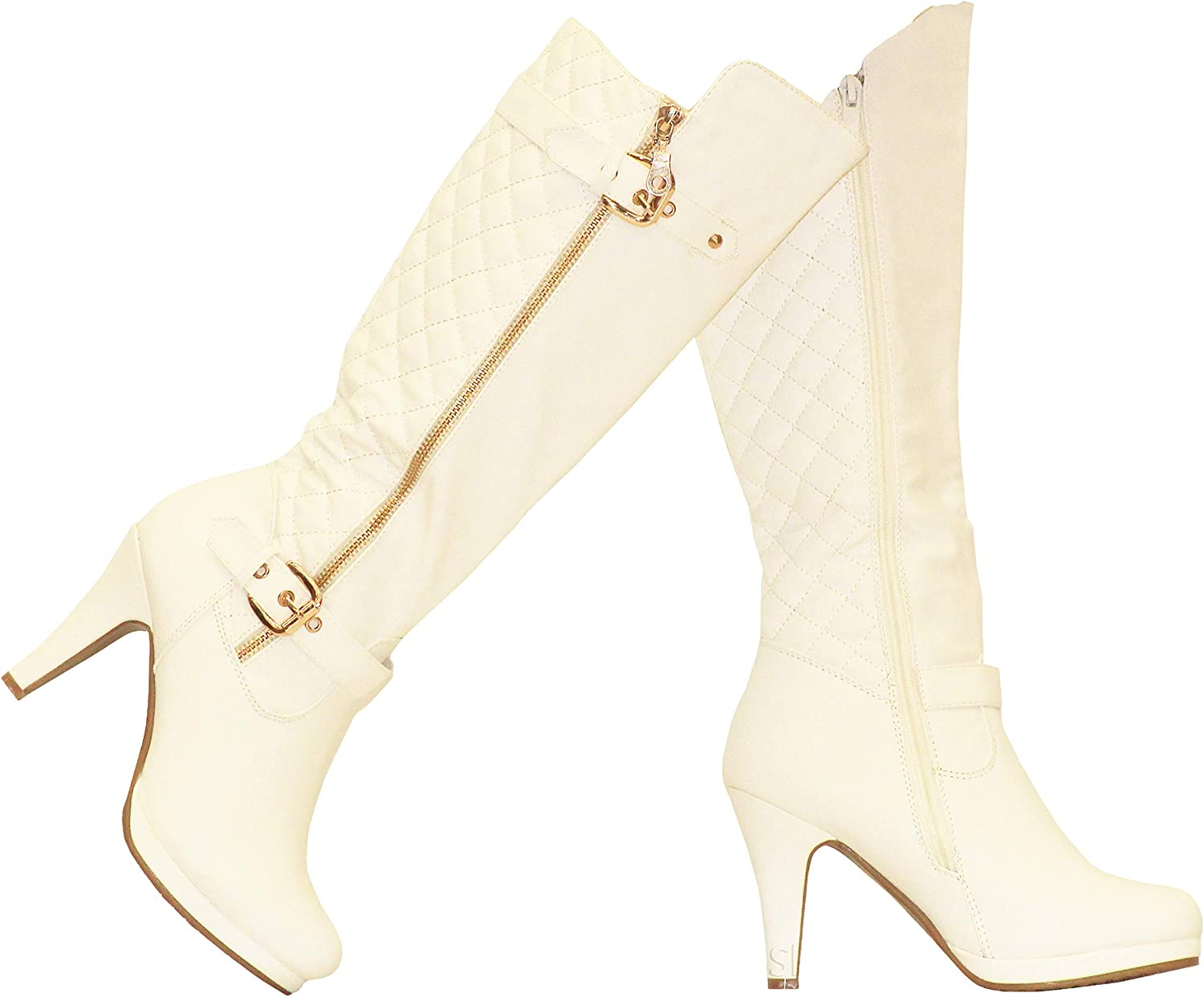 MVE Shoes Women's Soda Boots Knee High Ranking TOP17 Recommendation Pointed