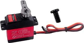 DS3218 Waterproof Servo RC Motor High Torque Digital 20KG Metal Gear 25T Servo Arm Waterproof for Baja Cars 180 Degree