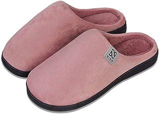Damen Winter niedlich Plüsch Hasenohren warme Hausschuhe Anti-Slip Home Schuhe