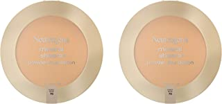 Neutrogena Mineral Sheers Compact Powder Foundation, Lightweight & Oil-Free Mineral Foundation, Fragrance-Free, Honey Beig...