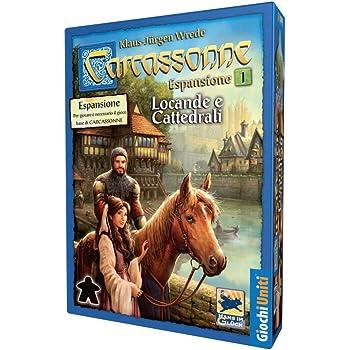 Giochi Uniti GU025 - Carcassonne Espansione 1 Locande e Cattedrali