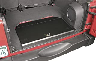 Tuffy Locking Cubby Cover, Black 2007-2012 Jeep Wrangler JK & Wrangler Unlimited # 143-01