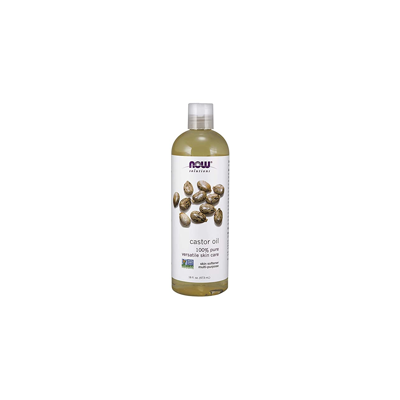 出力名義でトレードNOW Foods Castor Oil, Pure, 16 ounce (Pack of 2)