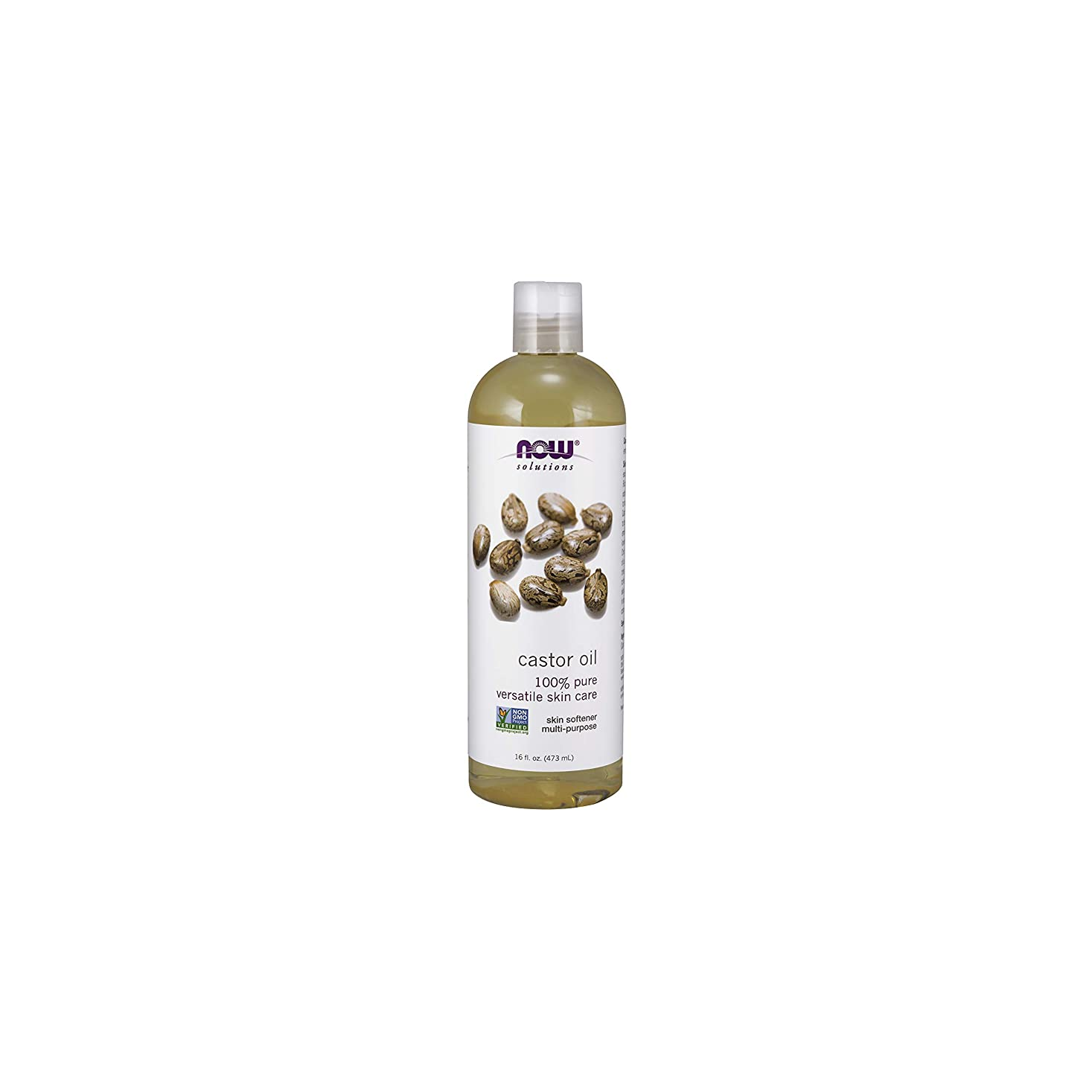 プレゼントベル爬虫類NOW Foods Castor Oil, Pure, 16 ounce (Pack of 2)