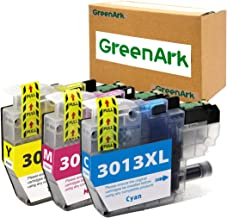 GreenArk Replacement for Brother LC3013 3PKS High Yield Color Compatible Ink Cartridges Work with Brother MFC-J895DW MFC-J491DW MFC-J497DW MFC-J690DW Printers Include LC3013XL Ink Cyan Magenta Yellow