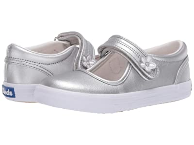 Keds Kids Ella (Toddler/Little Kid) (Silver) Girl