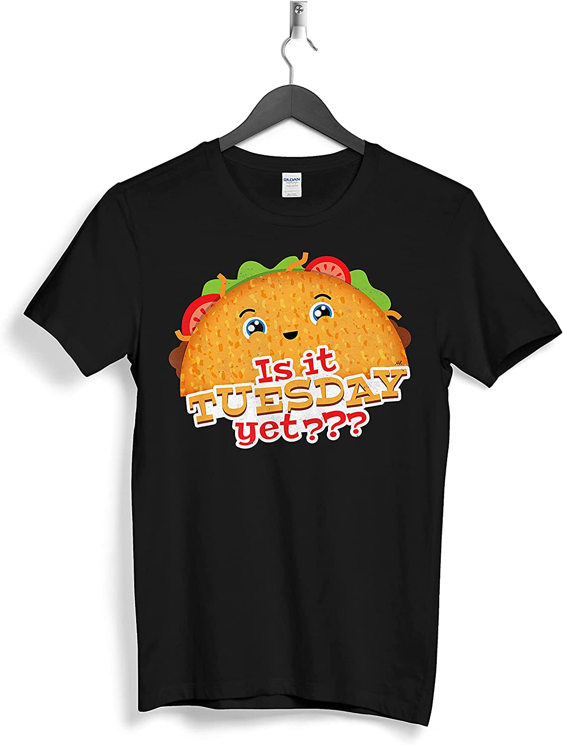 Is it Tuesday yet Taco Lover Mexican Food Truck Treats Funny Custom Personalized T-Shirts Gifts