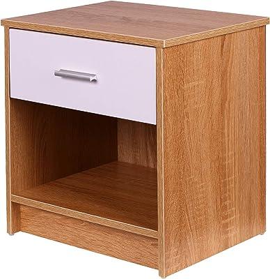 Krok Wood Nachttisch Julia aus Massivholz 40x40x40 cm (in