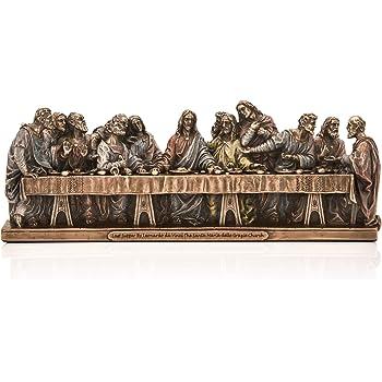 The Last Supper Religious Figure Jesus Sculpture Model Statue