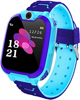comprar comparacion Winnes Reloj Inteligente para Niños, Niña La Musica y 7 Juegos Smart Watch Phone, 2 Vías Llamada Despertador de Cámara par...