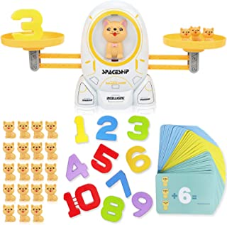 XUNPAS Cool Math Game , Learning Games for Kids Ages 4-5-6-7-8+ Year Old,Dog Balance Number Stem Toys Educational Preschoo...