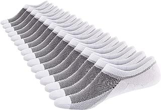 Men's 8 Pairs No Show Odor-Resistant Non Slip Socks Shoe Size 6-11