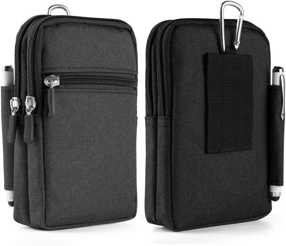 Cellphone Holster Belt Purse Bag for Nokia C10 C20, C01 Plus, C20 Plus, X10 G20 X20 G10, C1 Plus