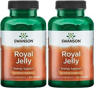 Swanson Royal Jelly - Maximum Strength 333.33 mg 100 Sgels 2 Pack