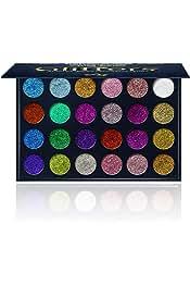 24 Color Professional Pressed Glitter Eyeshadow Eyeshadow - Mineral Shimmer Makeup Palette Shadows Eye Shadows Flash Color مجموعه آرایشی و بهداشتی