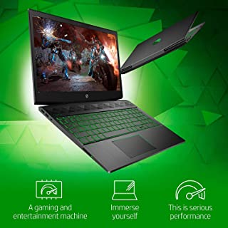 HP Pavilion Power Gaming Laptop - Intel Core i5-9300H, NVIDIA GeForce GTX 1050 3GB, 8GB SDRAM, 256GB SSD, 15.6 Inch FHD IPS Display, Win10 Home, English Keyboard Backlit