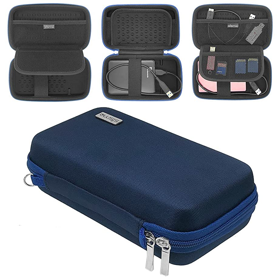 sisma Portable External Hard Drive Case for Western Digital Seagate Toshiba 500GB 1TB 2TB 2.5