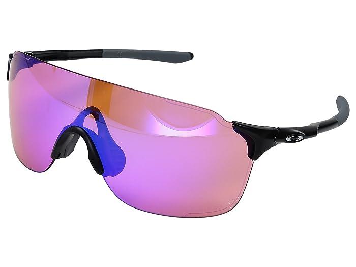 Oakley Evzero Stride (Matte Black w/ Prizm Trail) Fashion Sunglasses