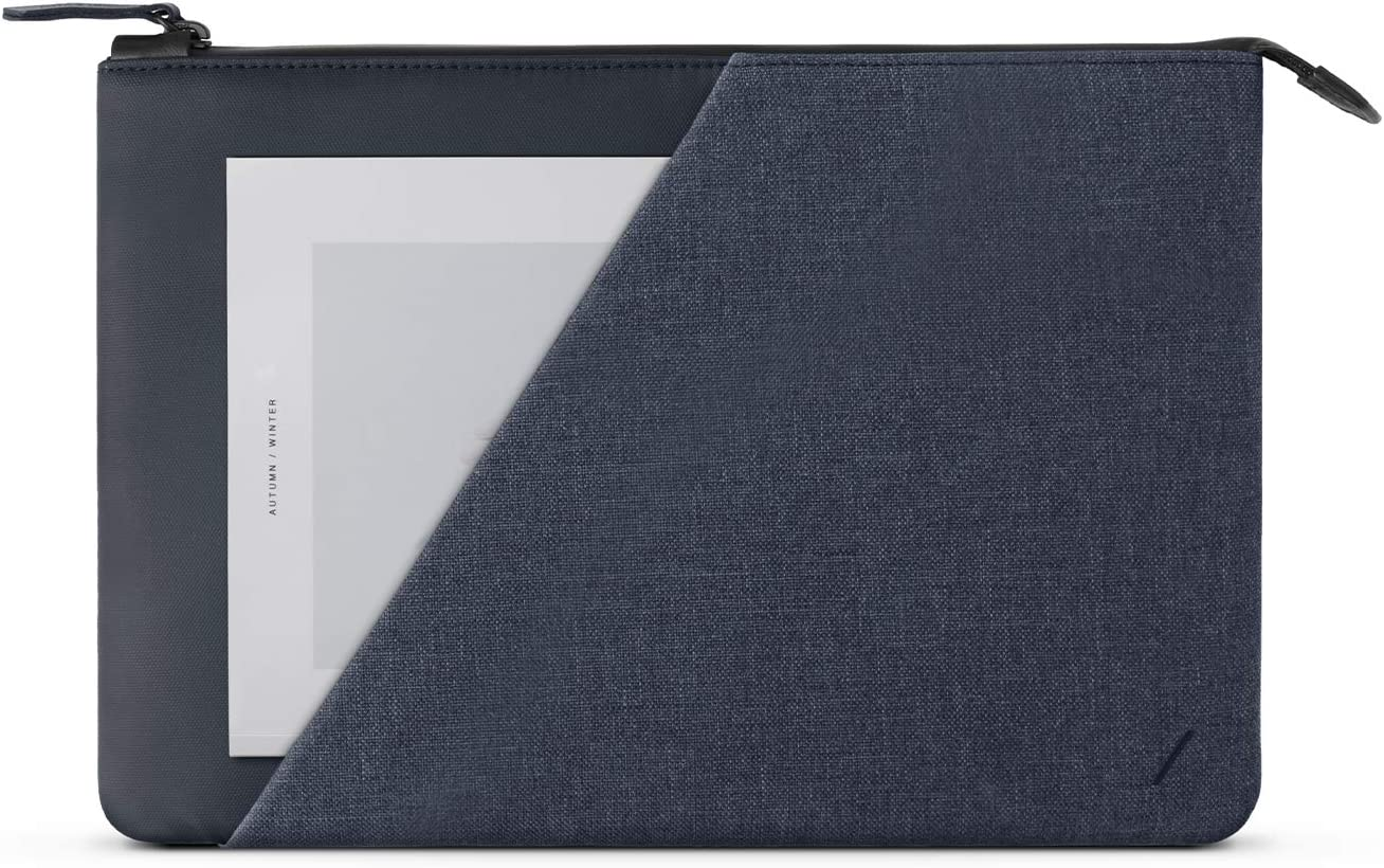"""Native Union Stow 12"""" Laptop Sleeve – Schlank und elegant mit Rundumschutz  und Außentasche kompatibel mit MacBook 12"""