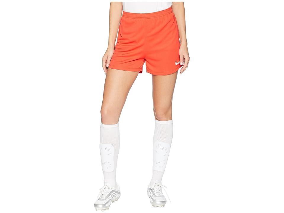 Nike Dry Academy Soccer Short (Light Crimson/White/White) Women