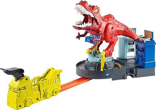 precios bajos Hot Wheels - City Alborojoo del del del Dinosaurio T-Rex, Pistas de Coches de Juguete (Mattel GFH88)  excelentes precios