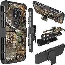 Moto E5 Play Case, Moto E5 Cruise Phone Case, Ueokeird [Heavy Duty] Armor Shock Proof [Swivel Belt Clip] Holster [Kickstand] Rugged Combo Case Cover for Motorola Moto E5 Play (camo)