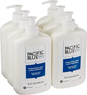 Pacific Blue Select Countertop Moisturizing Lotion by GP PRO (Georgia-Pacific), Unscented, 43461, 443 mL Per Bottle, 6 Bottles Per Case