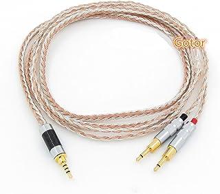 Gotor® 交換ヘッドホンケーブル HD700 HD 700 ヘッドホン 対応用 バランスケーブル ヘッドフォン ケーブル2.5mm4極バランス リケーブル