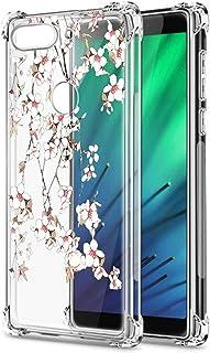Oihxse Cristal Compatible con Samsung Galaxy J7 2018/J737 Funda Transparente TPU Silicona Estuche Airbag Esquinas Anti-Cho...