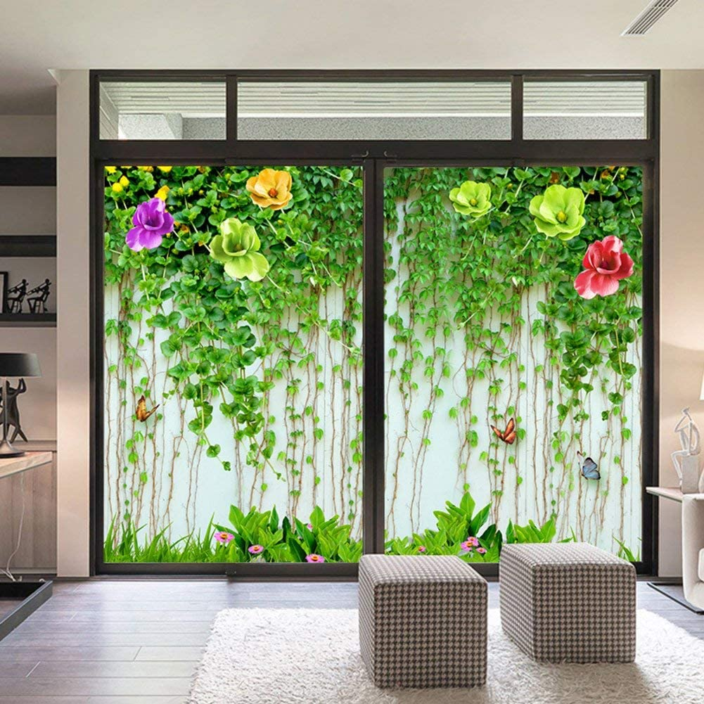 Siunwdiy Max Max 87% OFF 87% OFF 3D Static Films for Windows Film Frosted P Glass