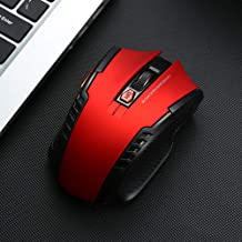 SENA World Wireless Mouse M2101 USB Receiver, Gaming Mouse, Office and Home Mice, for Windows PC, Laptop, Desktop (Red)