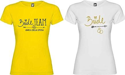 a039c169d36ac7 Centro Stampa Brianza T-Shirt Addio al Celibato e Nubilato - Team Bride  Donne -