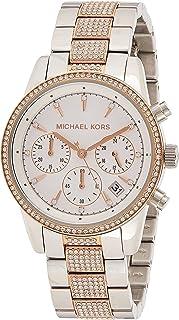 Michael Kors Ritz Women's White Dial Stainless Steel Analog Watch - MK6651