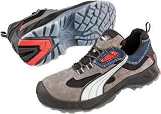 e3f5da5d9 Puma Safety - Zapatos para hombre, Gris/Azul, 42