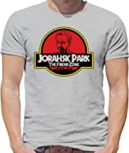 Dressdown Jorahsic Park The Friend Zone - Mens Crewneck T-Shirt - 7 Colours