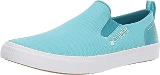 Women's Dorado Slip PFG Boat Shoe, Clear Blue, White, 11 Regular US