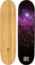 Bamboo Skateboards Graphic Skateboard Deck Only - More Pop, Lasts Longer Than Maple, Eco Friendly