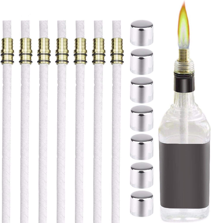 MIMEI Wine Bottle Torch Wicks Popular products Sale SALE% OFF Kit Light Patio
